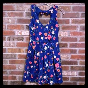 Cute A line flower dress